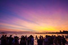 Lantern Floating Festival Stock Photography