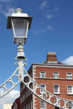 Lantern of Ha'penny Bridge in Dublin Royalty Free Stock Photography