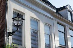 Lantern on house Stock Images