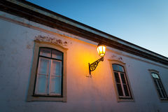 Lantern on the house Stock Photography