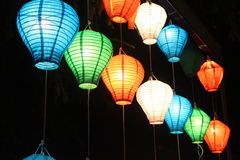 Lantern Hung Royalty Free Stock Photo