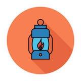 Lantern icon Royalty Free Stock Photos