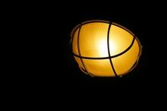 Lantern isolated on black Stock Images