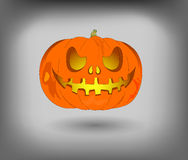 Lantern Jack, a pumpkin for Halloween, use as a design element Royalty Free Stock Photo