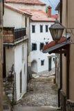 Lantern in Kastav old village, Istria. Croatia stock photos