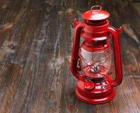 Lantern kerosene oil lamp Royalty Free Stock Images