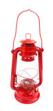 Lantern kerosene vintage red Royalty Free Stock Image