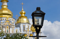 Lantern  in Kyiv, Ukraine . Stock Photos