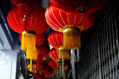 A lantern. A latern is the trademark when celebrate a chinese new Stock Images