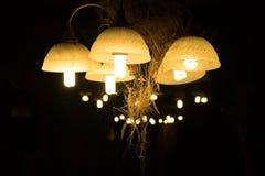 Lantern lighting vintage Royalty Free Stock Images