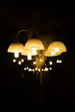 Lantern lighting vintage Stock Images