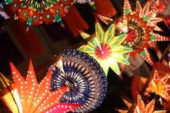 Lantern Line royalty free stock image