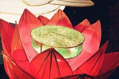 Lantern of lotus Stock Images
