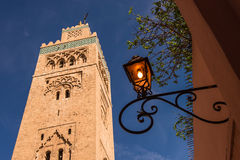 Lantern in  marrakech morocco. Stock Images