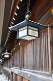 Lantern at Maruyama Shrine Royalty Free Stock Images