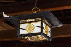 Lantern in Meiji Shrine, Tokyo. Japan Lantern decorated in Meiji Shrine, Tokyo, Japan stock image