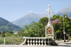 Lantern in Meran Royalty Free Stock Photos