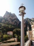 Lantern in Montserrat Royalty Free Stock Photo