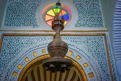 Lantern of mosque Stock Images
