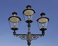 Lantern in Muenster, Westphalia, Germany Stock Photos