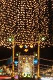 Lantern at Night Stock Images
