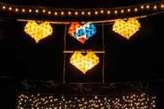 Lantern at Night Royalty Free Stock Photography