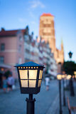 Lantern in old city Royalty Free Stock Photography