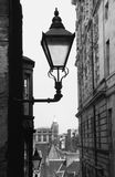 Lantern, Old Edinburgh. Stock Photos