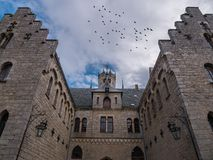 The lantern in old Marienburg Castle, Germany Royalty Free Stock Photography