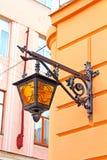 Lantern on Olga Kobylianska Street, Chernivtsi, Ukraine Royalty Free Stock Image