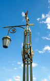 Lantern on Panteleymonovsky Bridge, Saint Petersburg Stock Image