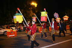 Lantern parade Stock Photography