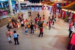 Lantern parade at Thean Hou Temple, Kuala Lumpur Stock Images