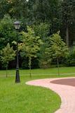 Lantern in park Royalty Free Stock Photo