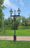 Lantern in the Park Royalty Free Stock Photos