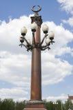 Lantern in park Royalty Free Stock Image