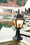 Lantern in the park Stock Images