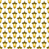 Lantern pattern Royalty Free Stock Photo