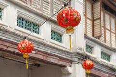 Lantern at Penang stock photography