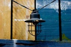 Lantern. Photo image with sea and lantern Stock Image