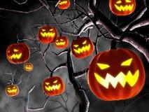lantern pumpkin Arkivfoto