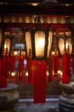 Lantern. Red chinese style lantern in hongkong stock images