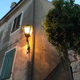 Lantern. Rovinj  croatia old city lantern Stock Photo