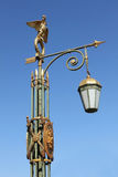 Lantern  in  Saint Petersburg, Russia Stock Photo