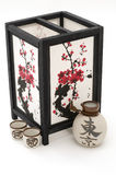 Lantern and Saki Containers Royalty Free Stock Photo