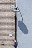 Lantern with shadow Stock Photo