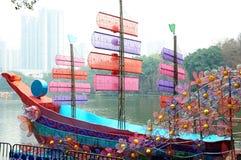 Lantern ship Royalty Free Stock Images
