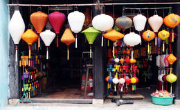 Lantern shop Royalty Free Stock Photography