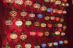 Lantern shop Stock Image