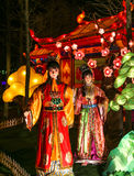Lantern show in chengdu,china Stock Photos
